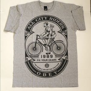 Gray Obey T-Shirt